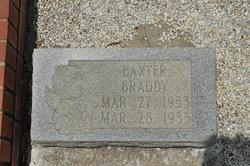 Baxter Braddy