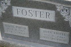 Nora <i>Lovell</i> Foster