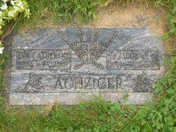 Eva Catherine Peggy <i>Stromberger</i> Achziger