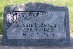 Flossie M. <i>Hale</i> Barkley