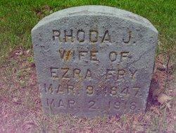 Rhoda Jane <i>Haff</i> Fry