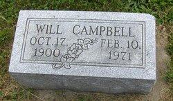 William C Will Campbell