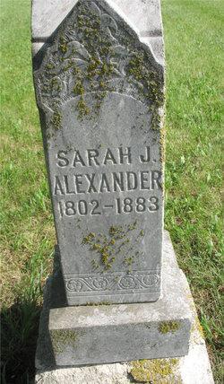 Sarah Jane Alexander