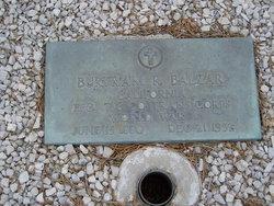 Burtram R. Bert Balzar
