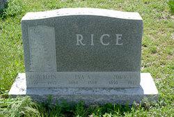 Mary Ellen <i>Trounce</i> Rice