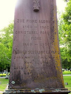 Zoe Worthington <i>Fiske</i> Aldrich