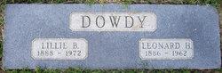Lillie Bell <i>McElroy</i> Dowdy