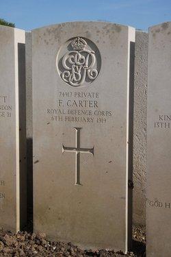 Pvt F. Carter