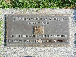 Rev Leonard W Bartle