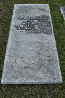 Susan Elizabeth <i>Brack</i> Cook