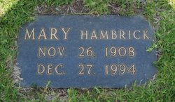 Mary Pauline <i>Hambrick</i> Bright