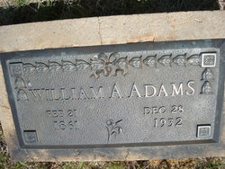 William A Adams