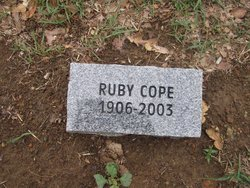 Ruby Mae <i>Grahame</i> Cope