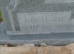Alice Lucille Connell