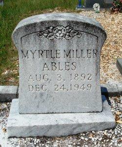 Myrtle <i>Miller</i> Ables