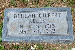 Beulah <i>Gilbert</i> Ables