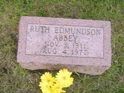Ruth <i>Edmundson</i> Abbey