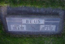 Rulon Edwin Beus