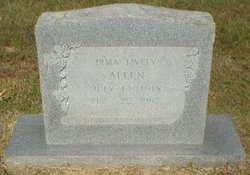 Irma Louise <i>Lively</i> Allen