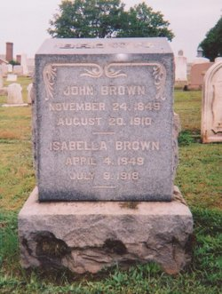Isabella <i>Johnson</i> Brown