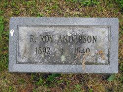 Robert Roy Anderson