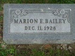 Marion E. Bailey