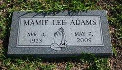 Mamie Lee Adams