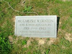 PFC Carlisle W Denton