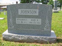 Benjamin E Johnson