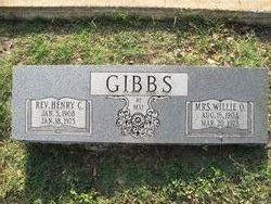 Willie O <i>Harris</i> Gibbs
