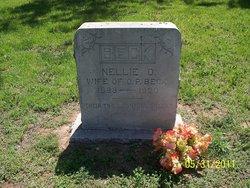 Nellie O. Beck