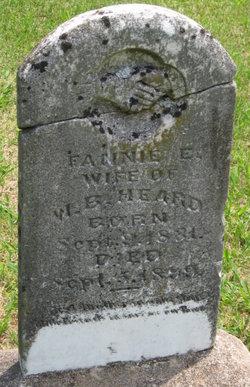 Frances Eveline Fannie <i>Johnson</i> Heard