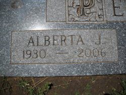 Alberta June <i>Avery</i> Peterson