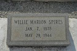 William 'Willie' Marion Spires