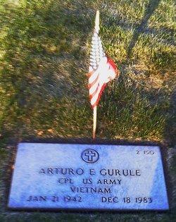 Corp Arturo E. Arthur Gurule