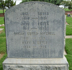 Miriam <i>Estes</i> Mitchell