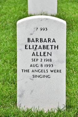 Barbara E Allen