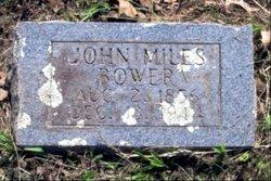 John Miles Bower