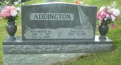 Rev Hobert Monroe Addington