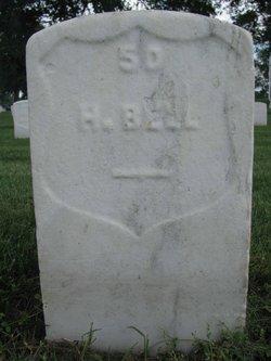 Pvt Nelson Bell