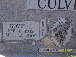 Govie Joyce <i>Hale</i> Culver