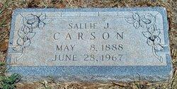 Sallie Sadie <i>Jarrell</i> Carson