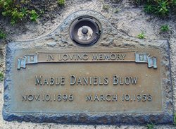 Mabel Lee <i>Daniels</i> Blow