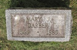 Mary J Barber