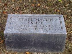 Ethel <i>Maclin</i> Eslick