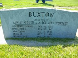Zeniff Odeen Buxton