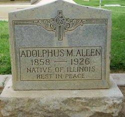 Adolphus M Allen