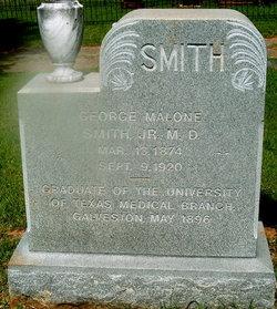 Dr George Malone Smith, Jr