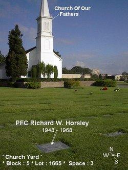 PFC Richard Wayne Horsley