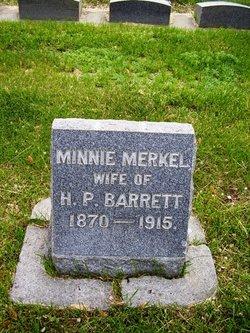 Minnie <i>Merkel</i> Barrett